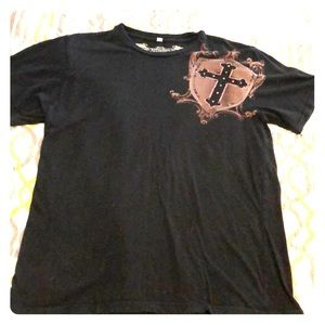 Affliction t shirt size large